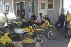 En heldag med grus, gegga och enduro med MCE - Motorcykelentusiasterna